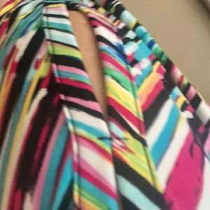 Fun Colorful soft top. Dress or casual.